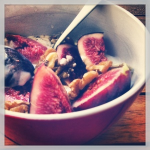 yogurt, walnut, figs & LSA